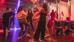 Ambiente en la barcelonesa discoteca Carpe Diem, el pasado sábado.