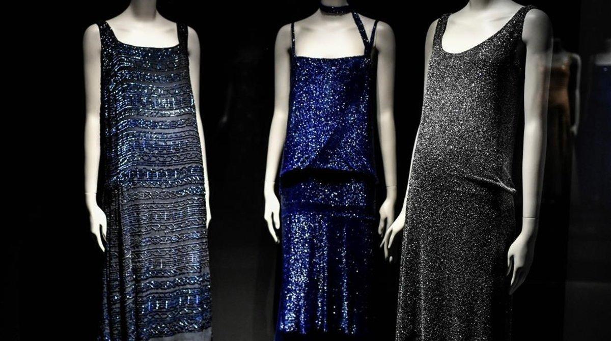 Vestidos y otras piezas que se podrán ver hasta el próximo 14 de marzo.