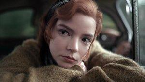 Anya Taylor-Joy protagonista de 'Gambito de dama'.