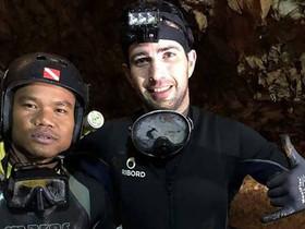 Creu d'or a l'orde civil per al bussejador espanyol heroi de la cova de Tailàndia
