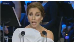 Escolta l'emotiu discurs d'Ana Belén al rebre el Goya d'Honor