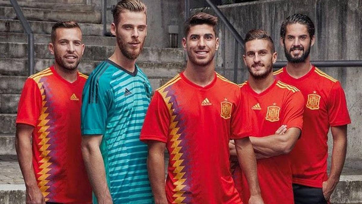 La nova samarreta de la selecció.