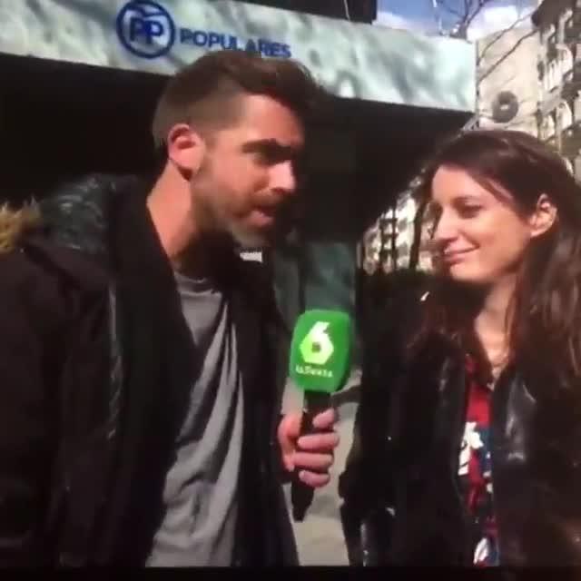 Andrea Levy se anima y canta el himno español de Marta Sánchez