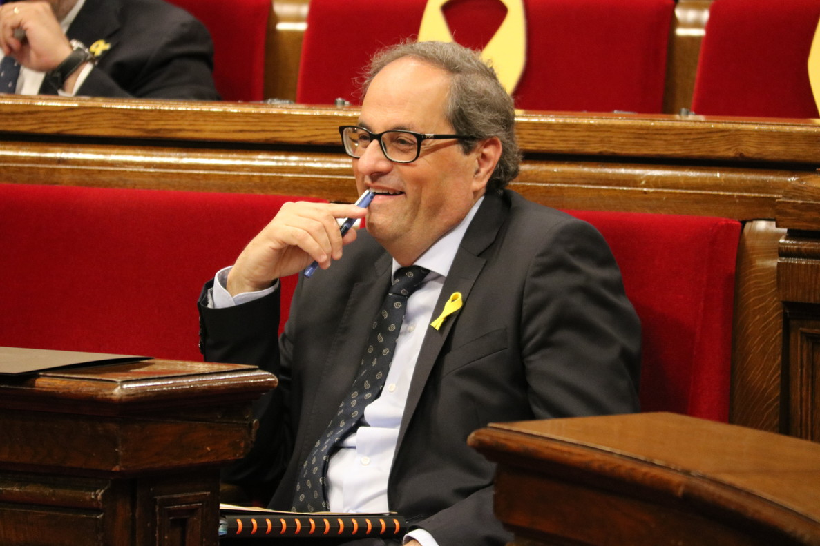 JxCat i ERC aguanten el duel a Llarena amb la suspensió dels diputats