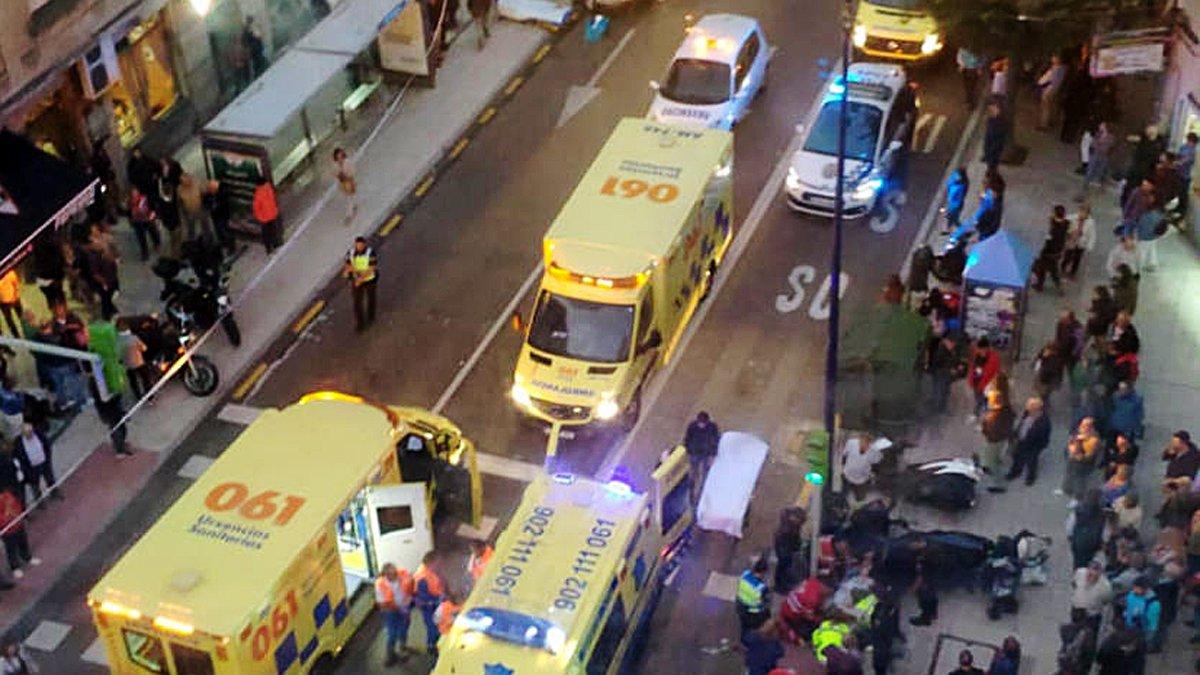 Un conductor es desmaia i atropella vuit persones, entre les quals dos nens, a Vigo