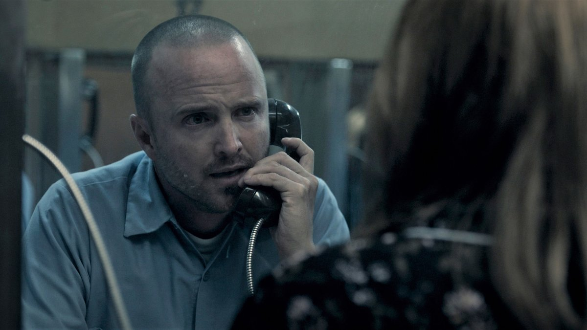 Aaron Paul, en un fotograma de 'Truth be told'