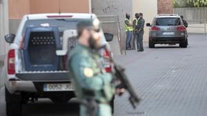 La Guardia Civil obvia que la detención en Vinaròs es una operación conjunta con los Mossos
