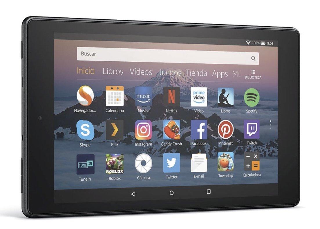 Nueva versión de la tableta Fire de Amazon