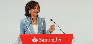 Ana Botín, presidenta del Banco de Santander.