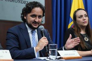 Ministro ecuatoriano de Telecomunicaciones, Andrés Michelena.