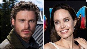Angelina Jolie y Richard Madden.