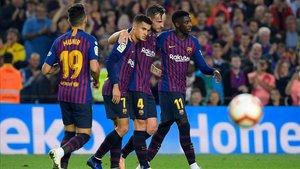 El Barça viene de vencer al Sevilla (4 -2) por LaLiga