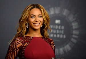 Beyonce posa para la prensa, el pasado agosto.