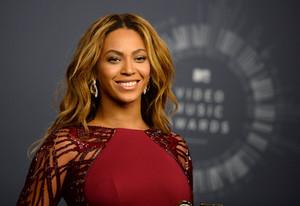 Beyoncé posa per a la premsa, a l'agost.