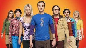 Imagen promocional de la serie The big bang theory.