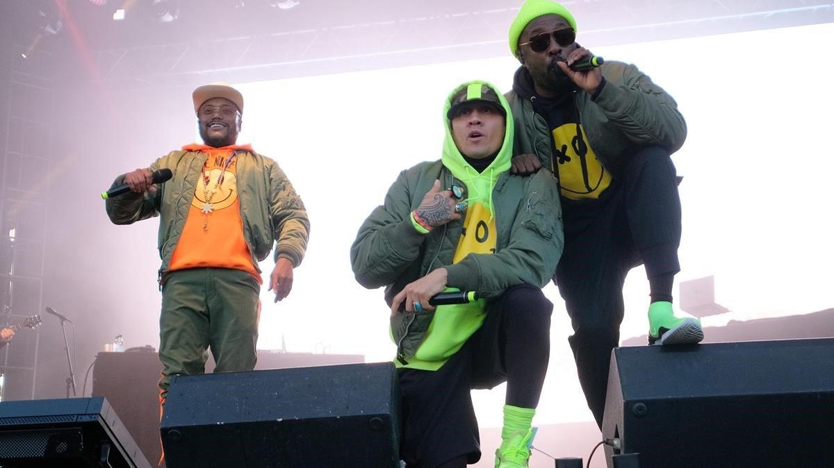Black Eyed Peas, en un concierto en Islandia, el pasado mes de junio