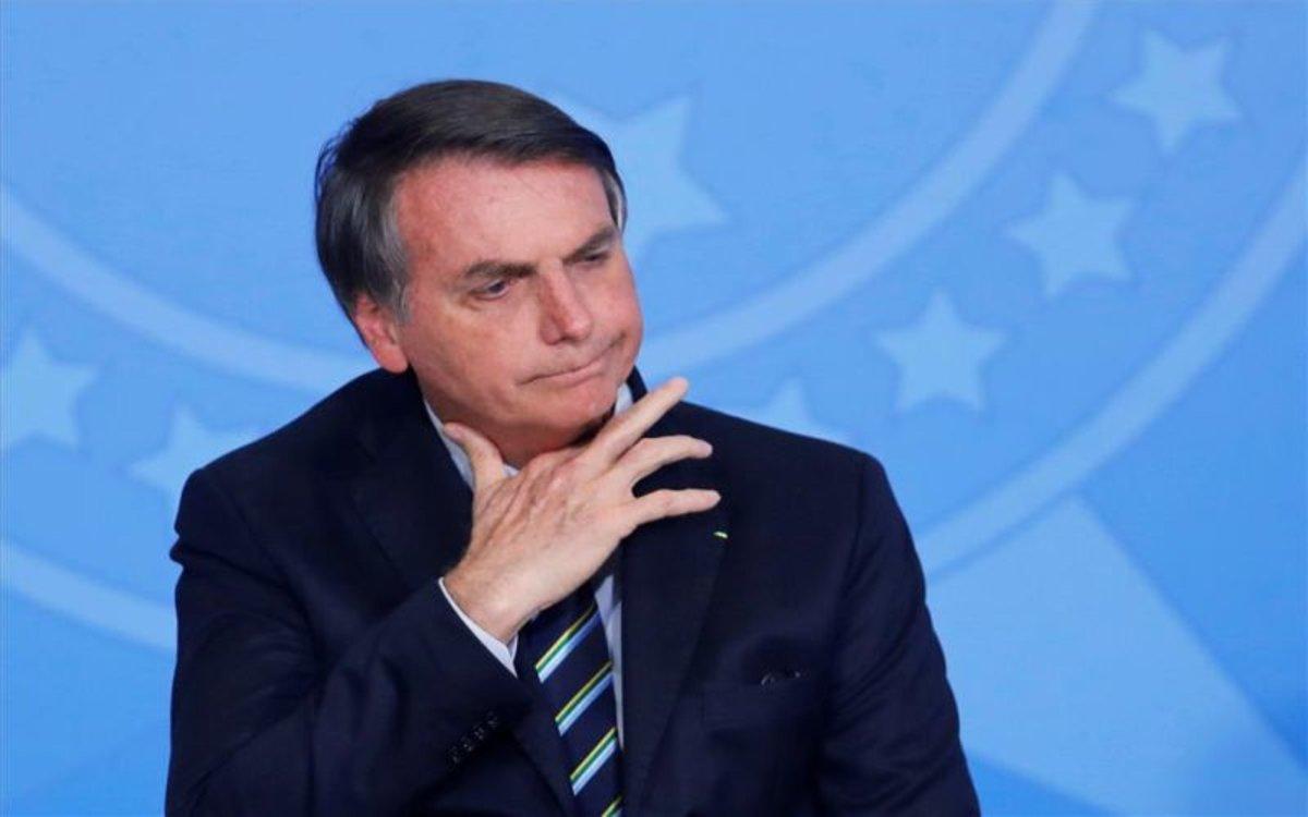 Bolsonaro revela que posiblemente padece cáncer de piel