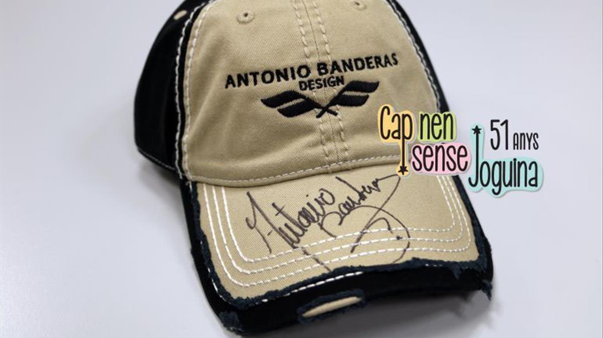 Gorra de Antonio Banderas.