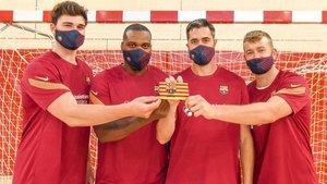 Fábregas, Sorhaindo, Entrerríos y Pérez de Vargas, nuevos capitanes del Barça.