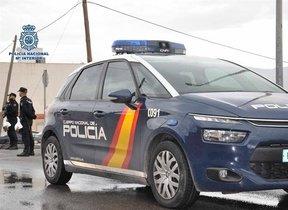 Coche de Policía Nacional (13/08/2020)