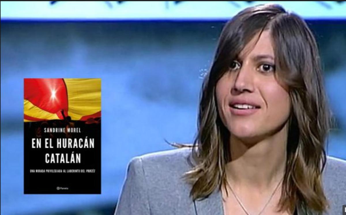La corresponsal de Le Monde en España, Sandrine Morel.