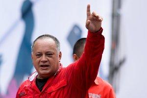 Diosdado Cabello, el considerado número dos del régimen de Nicolás Maduro.