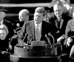 Discurs cèlebre.John Fitzgerald Kennedy, el 1961.