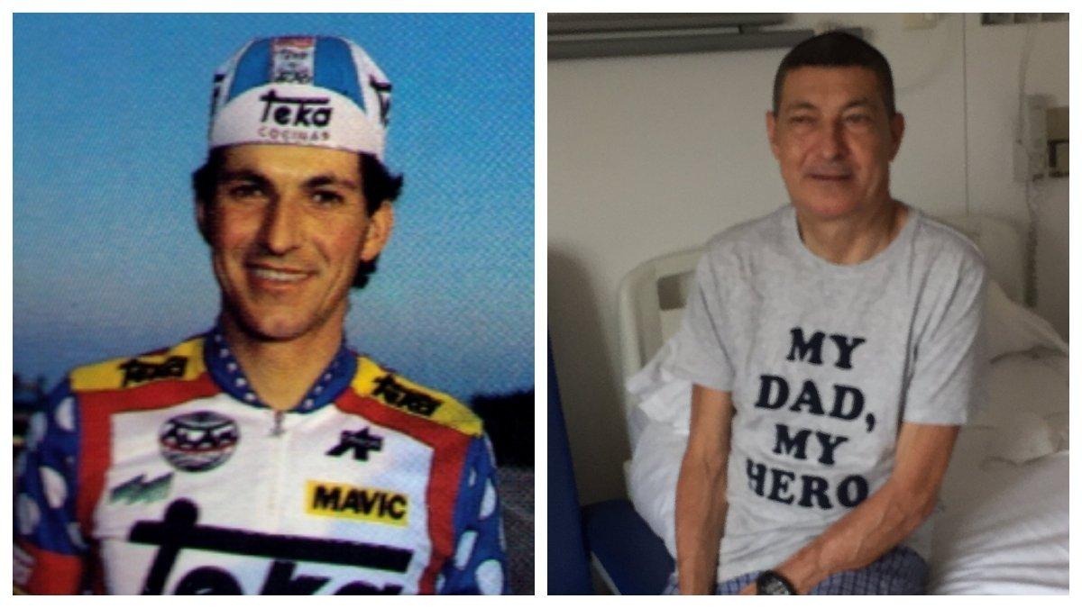 Eduardo Chozas, en 1986 y este domingo.