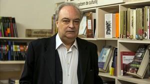 Enrique Vila-Matas, en la Llibreria +Bernat.