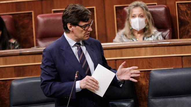 En España ya hay 224 brotes activos de Covid-19, 23 más que el lunes. Así lo ha explicado el ministro de Sanidad, Salvador Illa, en el Congreso.