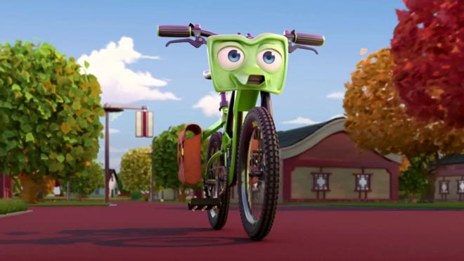'Bikes': ecologisme sobre rodes