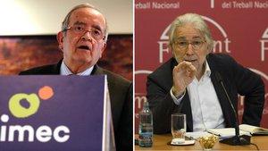 Foment, Pimec, UGT i CCOO criden a la convivència i el diàleg