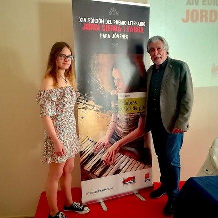 L'estudiant Julia Ramírez, premi Jordi Sierra i Fabra per a joves escriptors del 2019