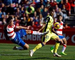 Imagen del partido Granada-Numancia (0-0), de la última jornada de Liga.