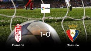 El Granada se hace fuerte en casa y gana al Osasuna