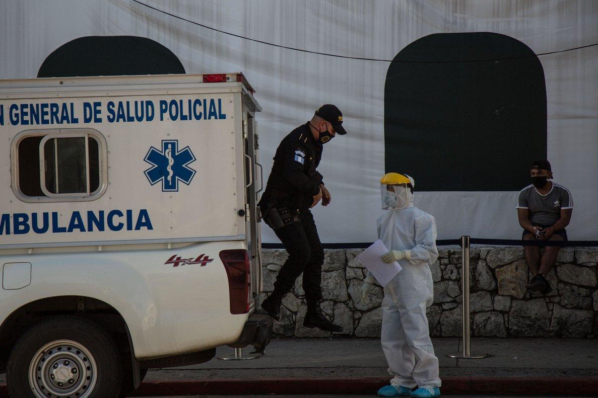 Guatemala batió el 9 de julio su propio registro en un solo día al contabilizar 1.247 nuevos contagio.