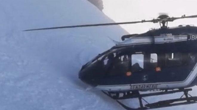 Vídeo | Espectacular rescat en helicòpter als Alps francesos