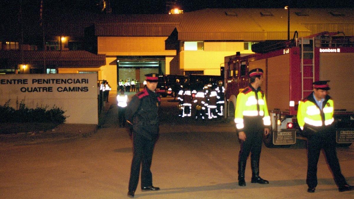 Imagen del día 29 de mayo del 2002, del exterior del centro penitenciario.