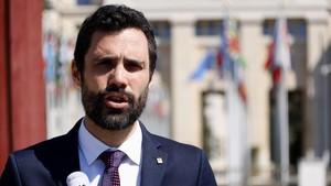 """Torrent demana la """"complicitat"""" de l'ONU per trobar una solució política per a Catalunya"""