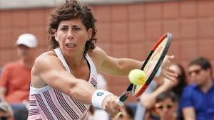 Els quarts se li entravessen una altra vegada a Carla Suárez-Navarro