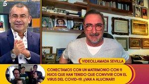 """Jorge Javier entrevista a Carlos Herrera en 'Sálvame': """"Cuando quieras te hago un polígrafo"""""""