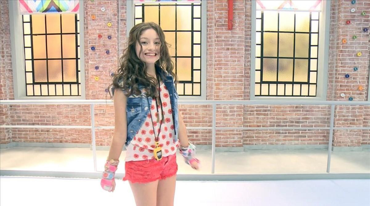 Karol Sevilla, en la serie de Disney Channel Soy Luna.