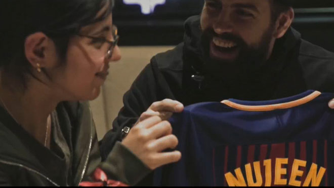 Las chicas sirias Givara y Nujeen y el FC Barcelona protagonizan una bonita historia de solidaridad.