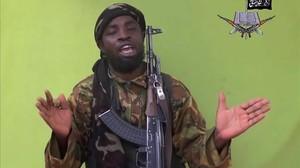 El líder de Boko Haram, Abubakar Shekan.