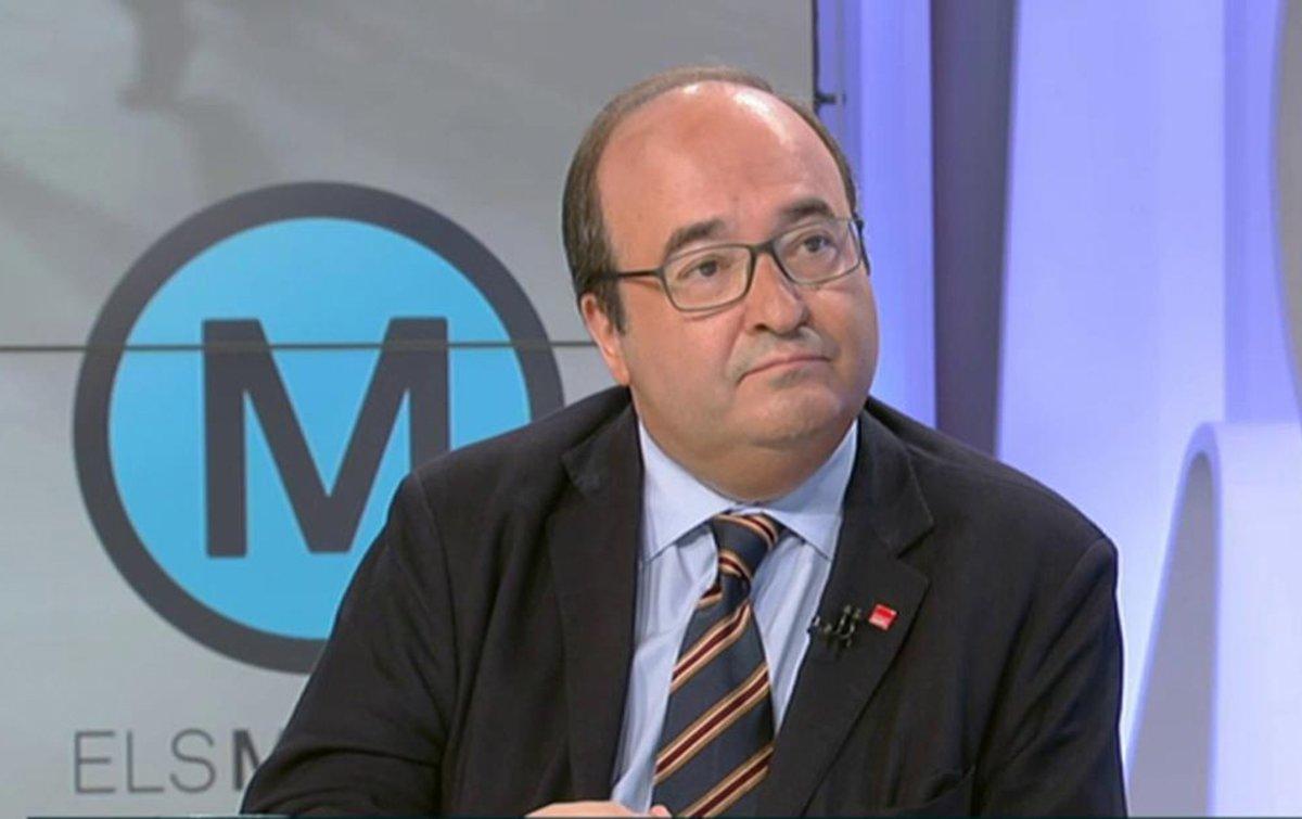 Miquel Iceta, en 'Els Matins' de TV-3.