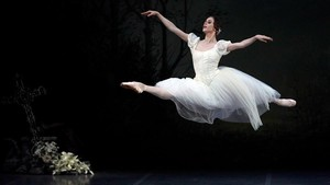 Un momento de la representación de Giselle en Peralada.