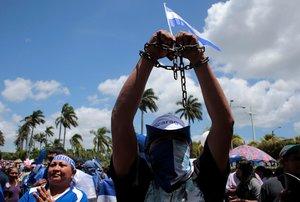 Protestas en Nicaracagua en contra del gobierno de Daniel Ortega.