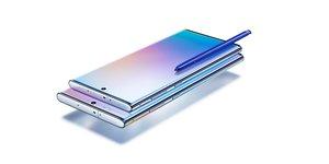 Note 10, de Samsung.
