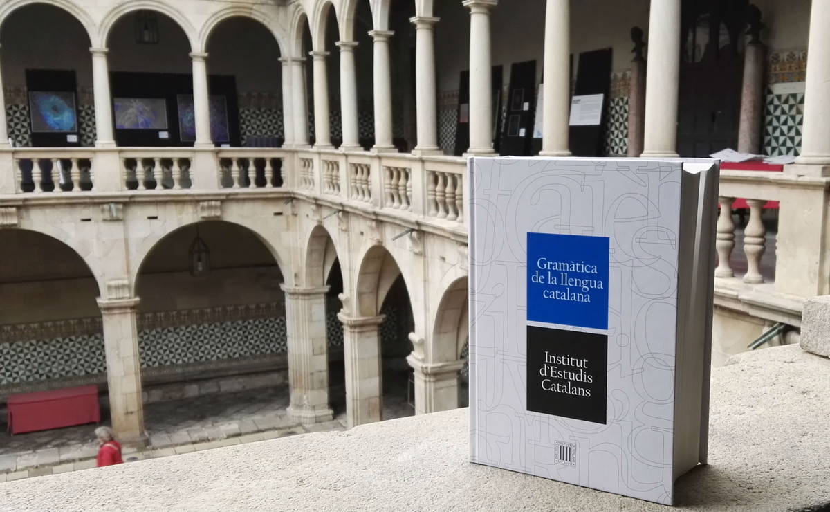La nueva Gramàtica de la llengua catalana del IEC.