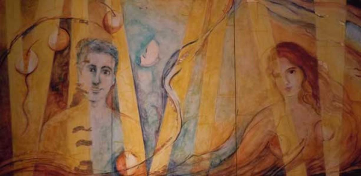 La obra de Coia Boqueras es una de las que componen esta exposición colectiva